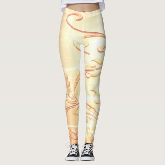 Golden Tendril Leggings