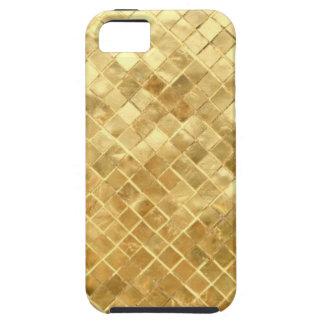 Golden texture design iPhone 5 cover