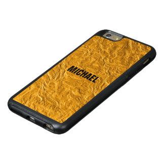 Golden texture OtterBox iPhone 6/6s plus case