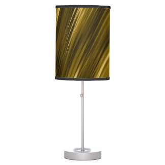 Golden texture table lamp