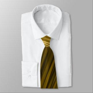 Golden texture tie