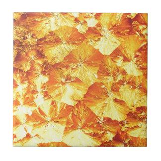 Golden texture tiles