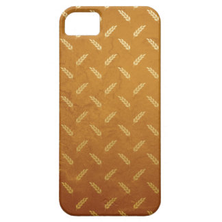 Golden Thanksgiving with Wheat Seed Heads iPhone 5 Case