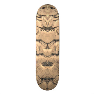 Golden Tidal Sands Custom Skate Board