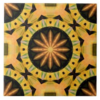 Golden Tile 9