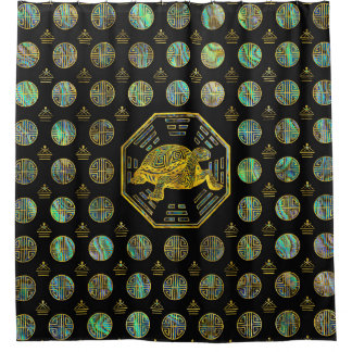 Golden Tortoise / Turtle Feng Shui Abalone Shell