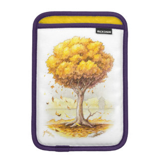 Golden Tranquility iPad Mini Sleeve