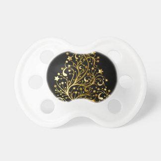 Golden tree design pacifier