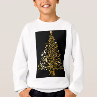 Golden tree design sweatshirt
