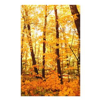 Golden Trees on St Joseph Island Stationery Paper