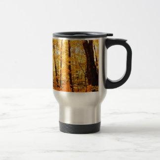 Golden Trees on St Joseph Island Travel Mug