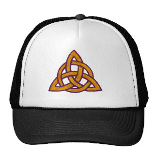 Golden Trinity Trucker Hat