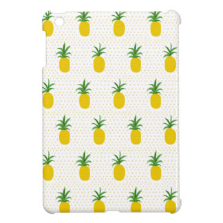 Golden Tropical Pineapples iPad Mini Cover