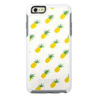 Golden Tropical Pineapples OtterBox iPhone 6/6s Plus Case