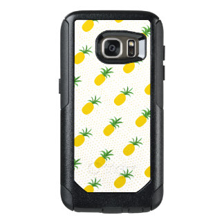 Golden Tropical Pineapples OtterBox Samsung Galaxy S7 Case