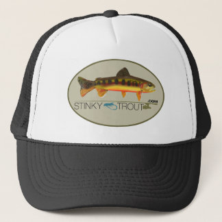 GOLDEN TROUT ILLUSTRATED STINKYFISH.COM CAP