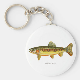 Golden Trout Keychain