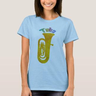 Golden Tuba Colorful Sound T-Shirt
