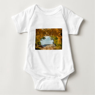 Golden Tunnel Of Love Baby Bodysuit