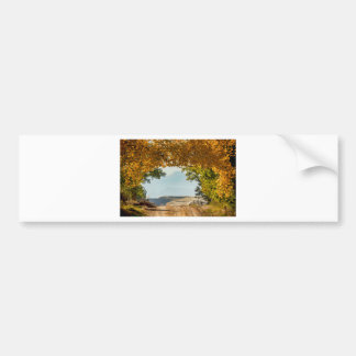 Golden Tunnel Of Love Bumper Sticker