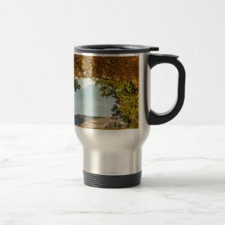 Golden Tunnel Of Love Travel Mug