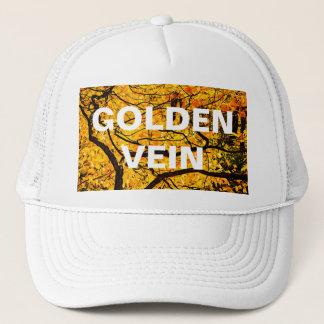Golden Veins Of Autumn Trucker Hat