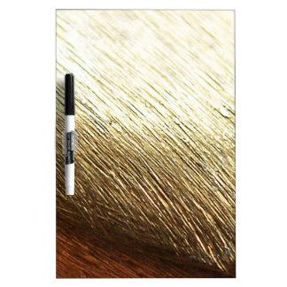 Golden Vermeil Dry Erase Board