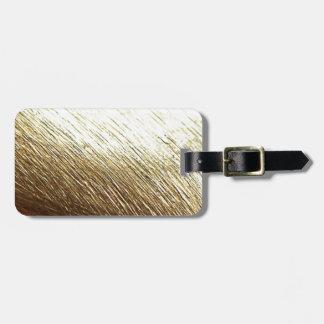 Golden Vermeil Luggage Tag