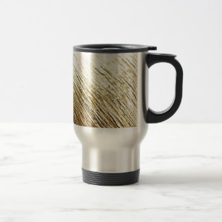 Golden Vermeil Travel Mug