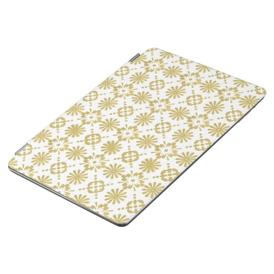Golden Victorian Pattern iPad Air Cover
