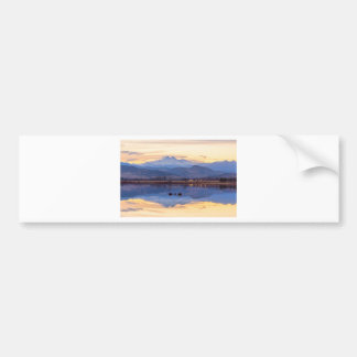 Golden View Bumper Sticker