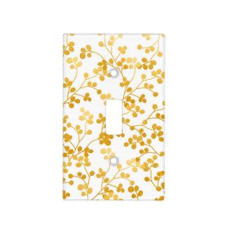 Golden Vines Light Switch Cover