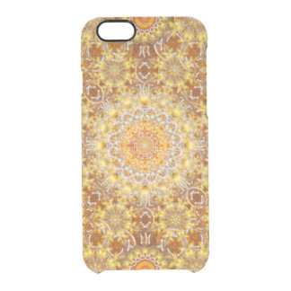 Golden Visions Mandala Clear iPhone 6/6S Case