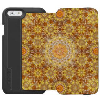Golden Visions Mandala Incipio Watson™ iPhone 6 Wallet Case