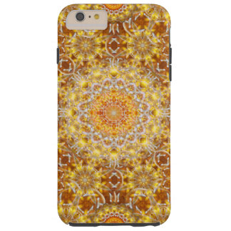 Golden Visions Mandala Tough iPhone 6 Plus Case