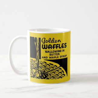 Golden Waffles Breakfast Coffee Mug