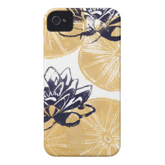 Golden Water lilies iPhone 4 Cover