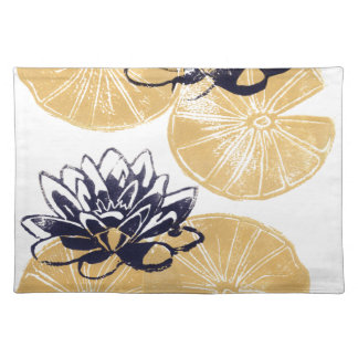 Golden Water lilies Placemat