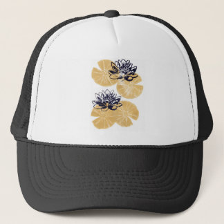 Golden Water lilies Trucker Hat