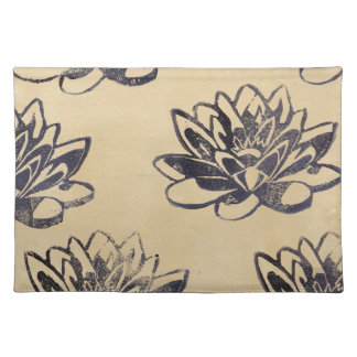 Golden Water Lilies two Placemat