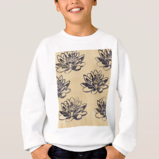 Golden Water Lilies two Sweatshirt