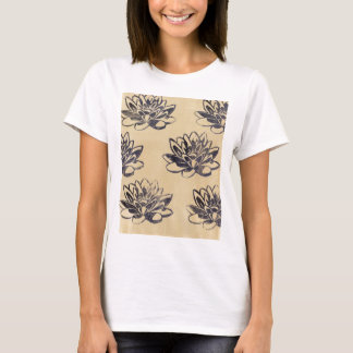 Golden Water Lilies two T-Shirt