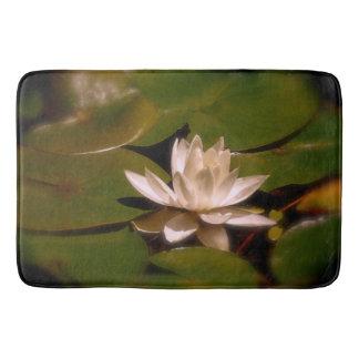 Golden Water Lily Bath Mat