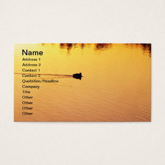 Golden Waters Business Card