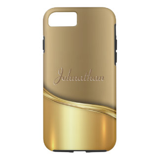 Golden Wave iPhone 8/7 Case