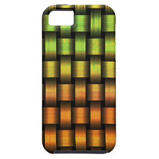 Golden Weave iPhone 5 Covers
