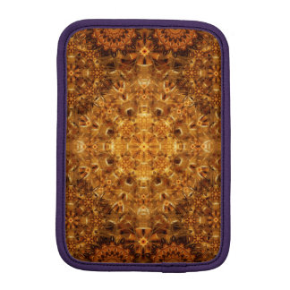 Golden Weave Mandala iPad Mini Sleeves
