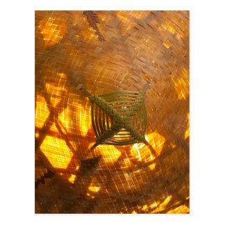 Golden Weave Postcard