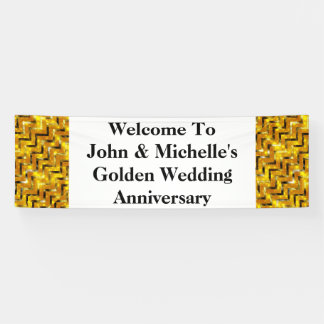 Golden wedding anniversary special | Personalize Banner