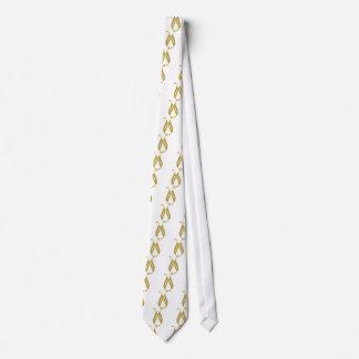 Golden Wedding Tie
